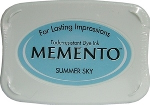 Tsukineko Memento Ink Pad SUMMER SKY ME-604 Preview Image