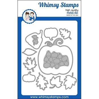 Whimsy Stamps BUILD A PUMPKIN PATCH Dies WSD407