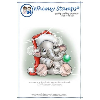 Whimsy Stamps ELLIES BAUBLE Clear Stamps C1345