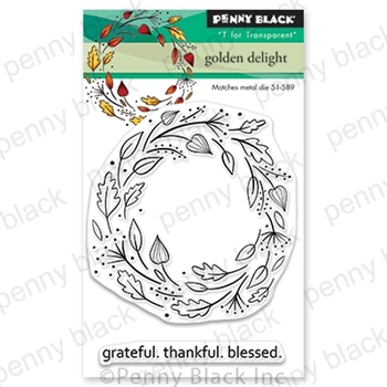 Penny Black Clear Stamps GOLDEN DELIGHT 30 601*