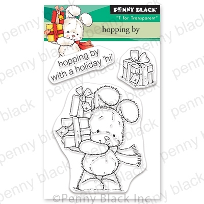 Penny Black Clear Stamps HOPPING BY 30-626 zoom image