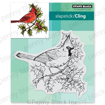 Penny Black Cling Stamp RUBY TRILL 40-704 Preview Image