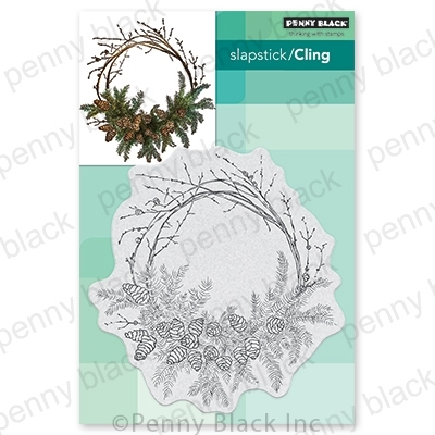 Penny Black Cling Stamp HOMESPUN 40-702 Preview Image