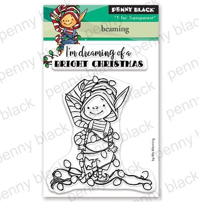 Penny Black Clear Stamps BEAMING 30-623 Preview Image