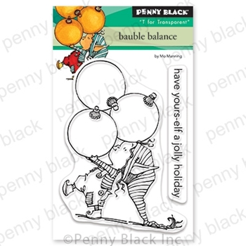 Penny Black Clear Stamps BAUBLE BALANCE 30-621