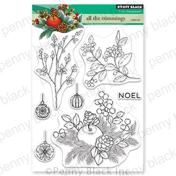 Penny Black Clear Stamps ALL THE TRIMMINGS 30-618