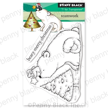 Penny Black Clear Stamps TEAMWORK 30-612