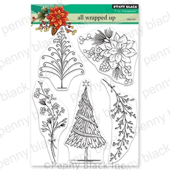 Penny Black Clear Stamps ALL WRAPPED UP 30-607