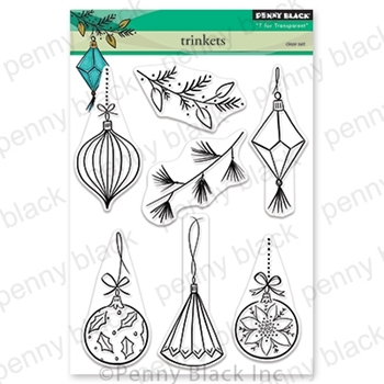 Penny Black Clear Stamps TRINKETS 30-605