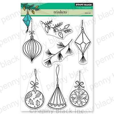 Penny Black Clear Stamps TRINKETS 30-605 zoom image