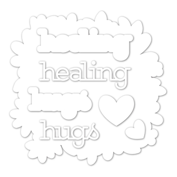 Simon Says Stamp HEALING HUGS Wafer Dies sssd112024