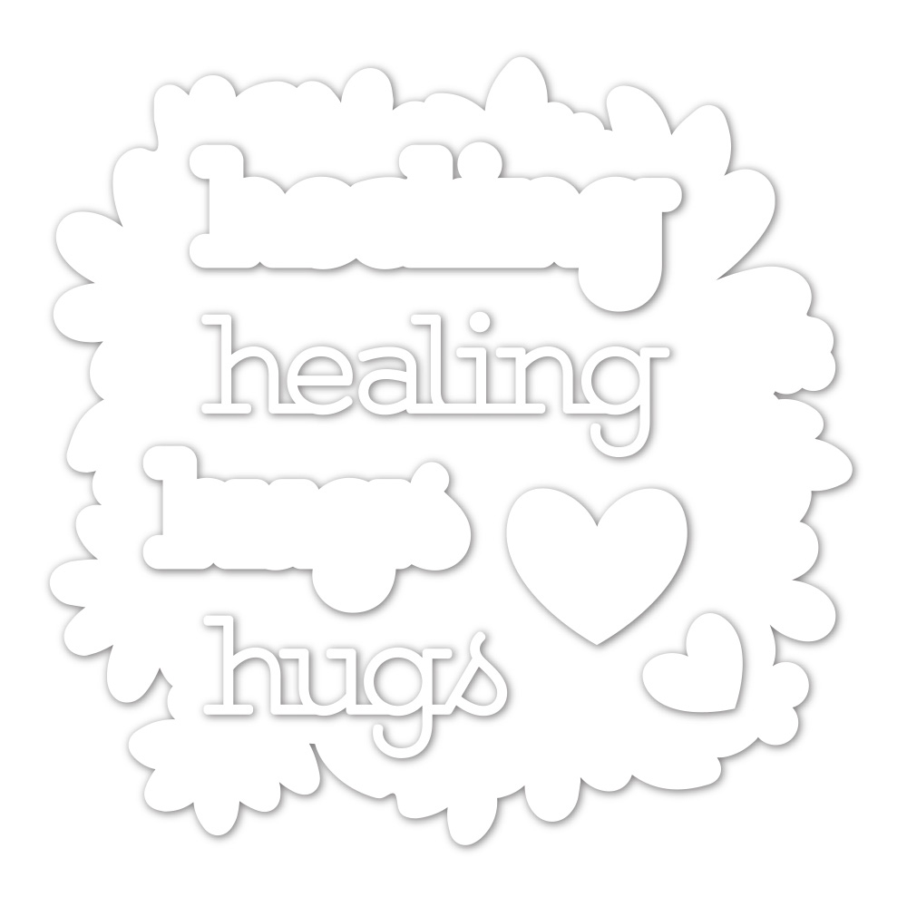 Simon Says Stamp HEALING HUGS Wafer Dies sssd112024 zoom image