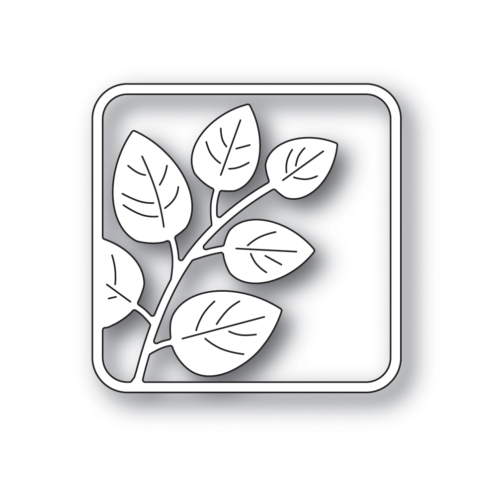 Simon Says Stamp LEAFY SQUARE Wafer Die s668 STAMPtember 2019 zoom image