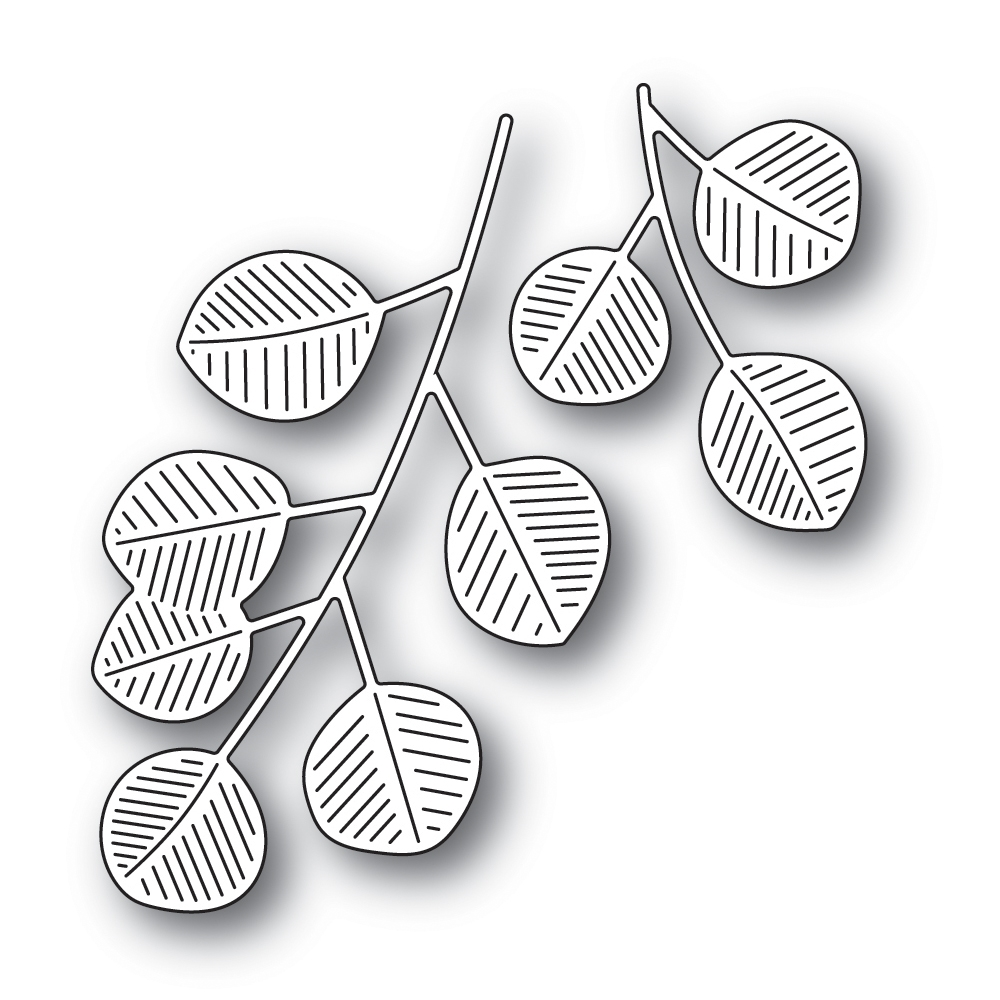 Simon Says Stamp EUCALYPTUS LEAVES Wafer Die s661 zoom image