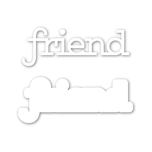 Simon Says Stamp FRIEND Wafer Dies sssd112029 Preview Image
