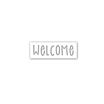 Simon Says Stamp WELCOME Wafer Dies sssd112022