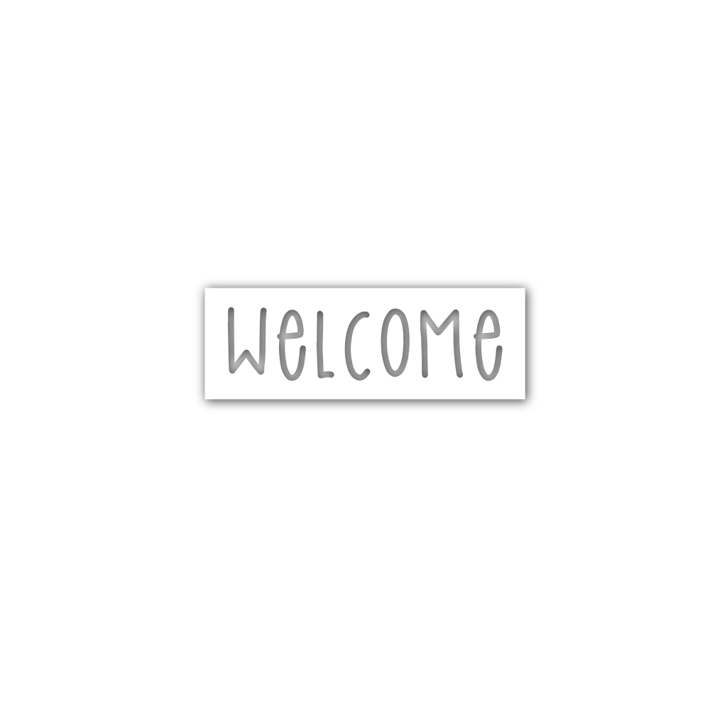 Simon Says Stamp WELCOME Wafer Dies sssd112022 STAMPtember 2019 zoom image