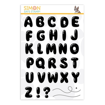 Simon Says Clear Stamps BALLOON LETTERS sss202021