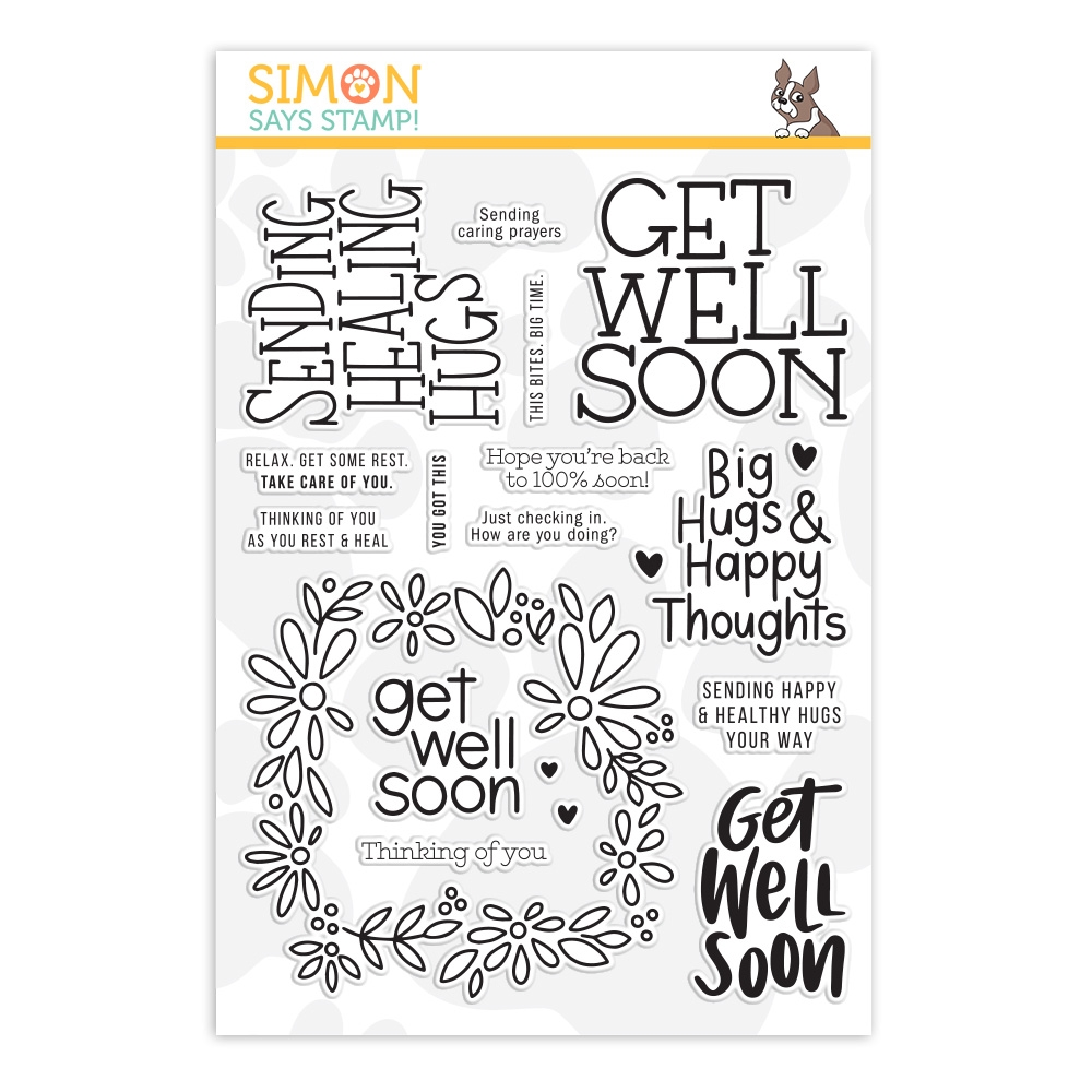 Simon Says Clear Stamps HEALING HUGS sss202025 zoom image