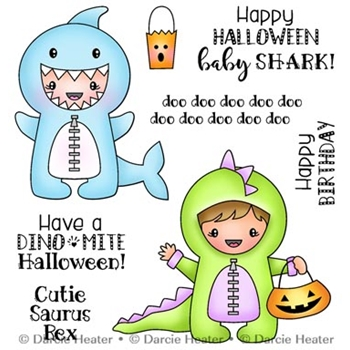 Darcie's SHARK BABY Clear Stamp Set pol447