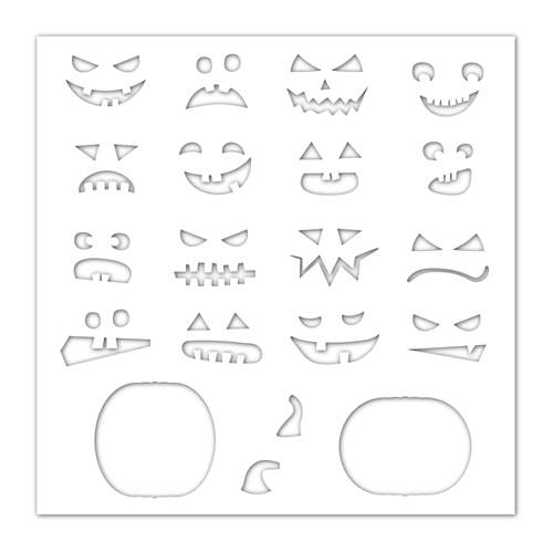 Simon Says Stamp Stencil JACK O'LANTERNS ssst121448 Preview Image