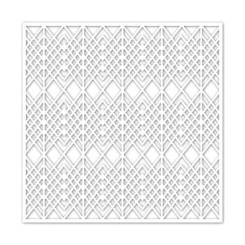 Simon Says Stamp Stencil DECO WEAVE ssst121453