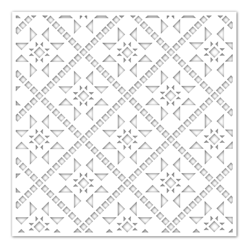 Simon Says Stamp Stencil QUILTED ssst121450 Preview Image