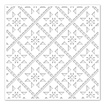 Simon Says Stamp Stencil QUILTED ssst121450