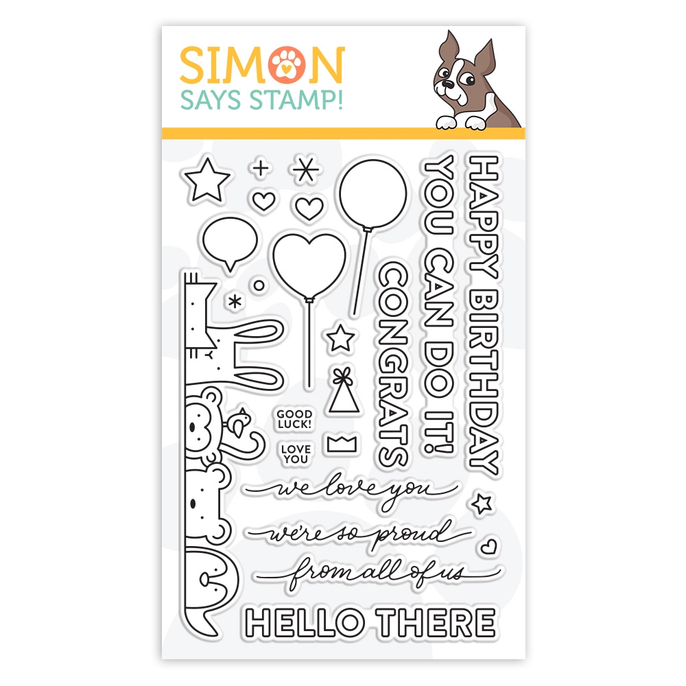 Simon Says Clear Stamps CRITTER CROWD sss102009 zoom image
