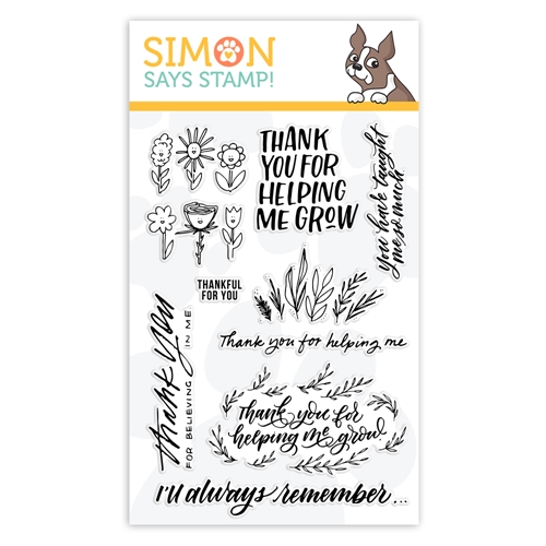 Simon Says Clear Stamps SCHOOL DAYS GROW sss102017 STAMPtember 2019 Preview Image