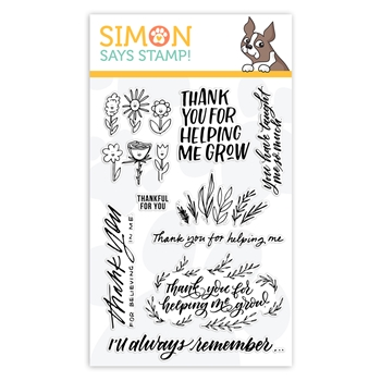 Simon Says Clear Stamps SCHOOL DAYS GROW sss102017L *