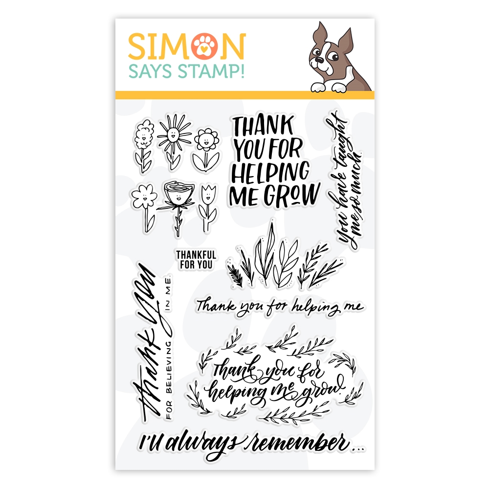 Simon Says Clear Stamps SCHOOL DAYS GROW sss102017 STAMPtember 2019 zoom image