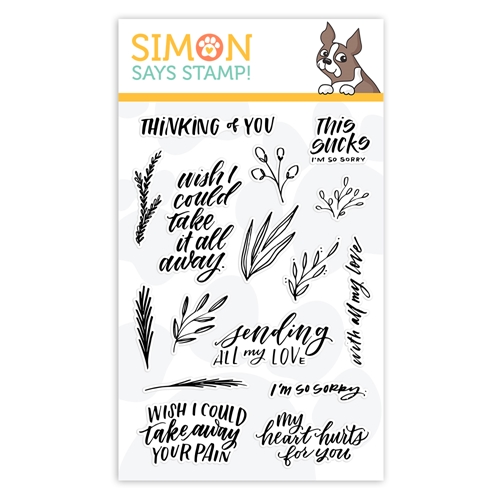 Simon Says Clear Stamps SENDING SYMPATHY sss102002L Preview Image