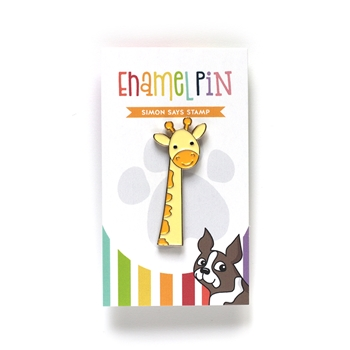 Simon Says Stamp GIRAFFE Enamel Pin EP1027