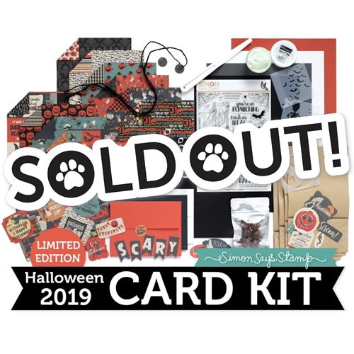 Limited Edition Simon Says Stamp Card Kit SPOOK UP SOME FUN Halloween SUSF19 Preview Image