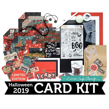 Limited Edition Simon Says Stamp Card Kit SPOOK UP SOME FUN Halloween SUSF19