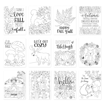 Simon Says Stamp Suzy's FALL CARDS Prints szfc0919 STAMPtember 2019
