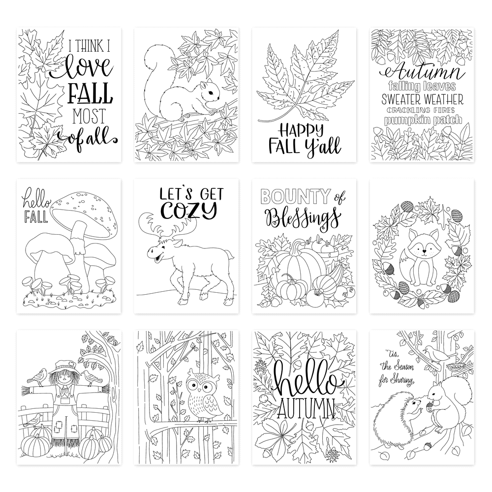 Simon Says Stamp Suzy's FALL CARDS Prints szfc0919 STAMPtember 2019 zoom image