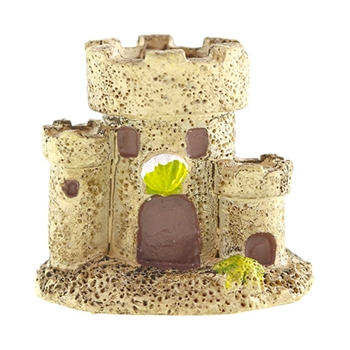 Darice MINI SANDCASTLE FIGURINE Mini Accents 30050280