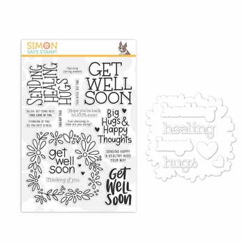 Simon Says Stamps And Dies HEALING HUGS set349hh Stamptember 2019