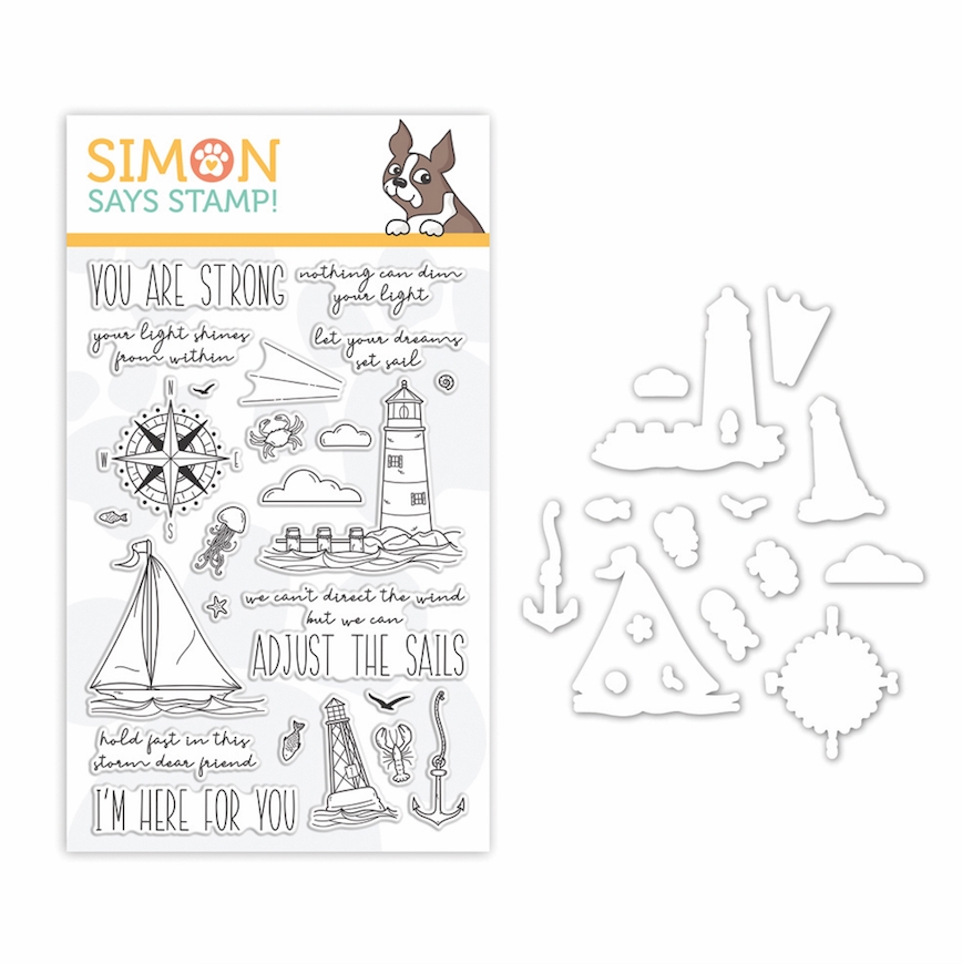 Simon Says Stamps And Dies YOUR LIGHT set353yl Stamptember 2019 zoom image