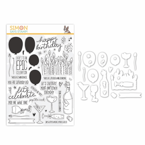 Simon Says Stamps And Dies CELEBRATE YOU set354cy Preview Image