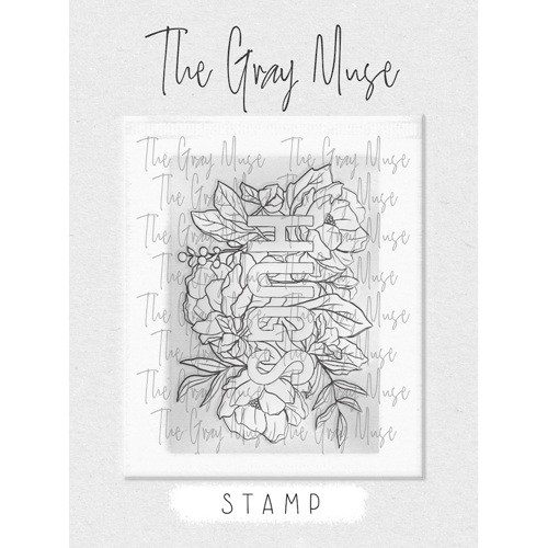 The Gray Muse HUGS Clear Stamp Set tgm-a19-ss2 Preview Image