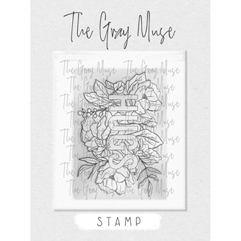 The Gray Muse HUGS Clear Stamp Set tgm-a19-ss2