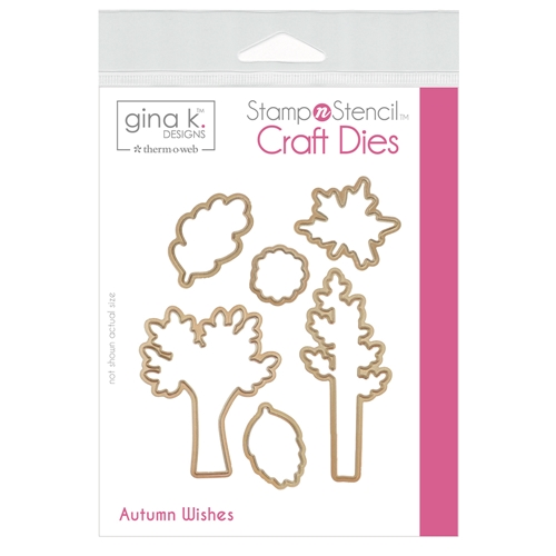 Therm O Web Gina K Designs AUTUMN WISHES Craft Dies 18147 Preview Image