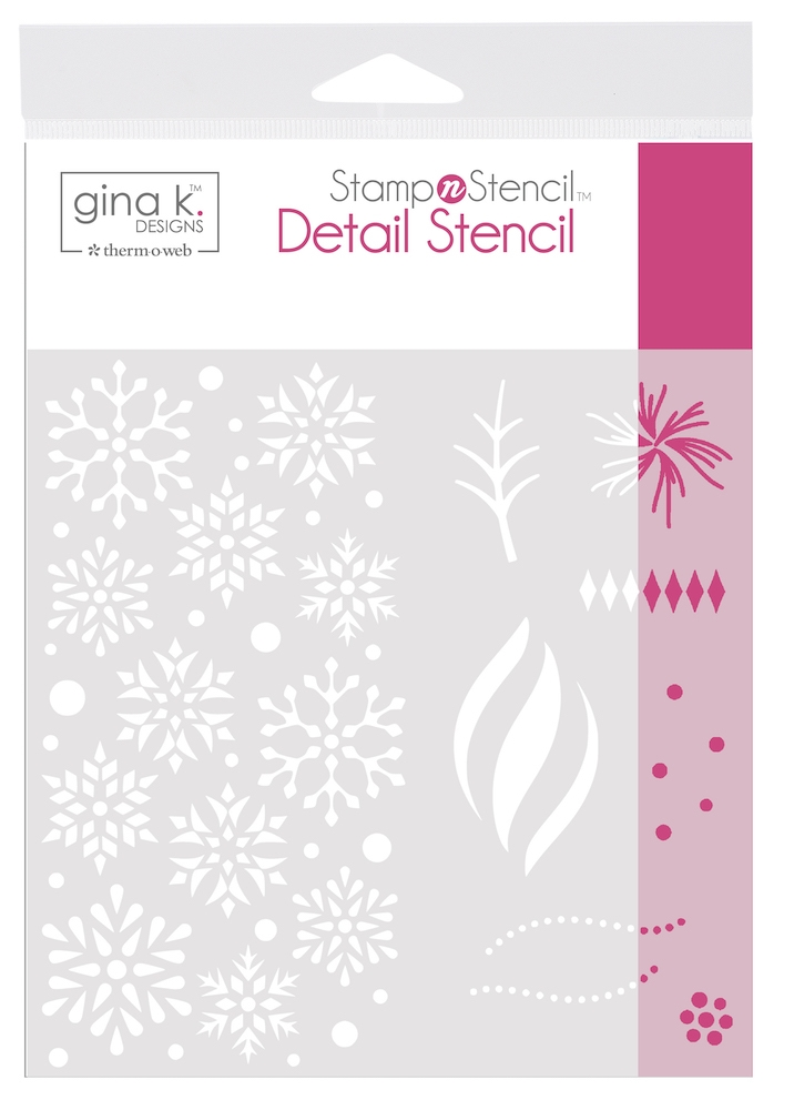 Therm O Web Gina K Designs WISHING YOU JOY Detail Stencil 18144 zoom image