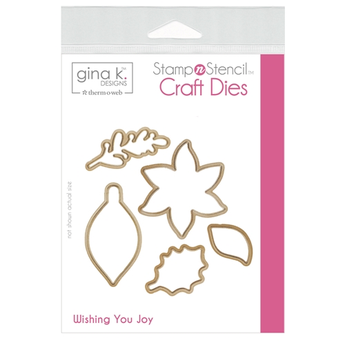 Therm O Web Gina K Designs WISHING YOU JOY Craft Dies 18148 Preview Image