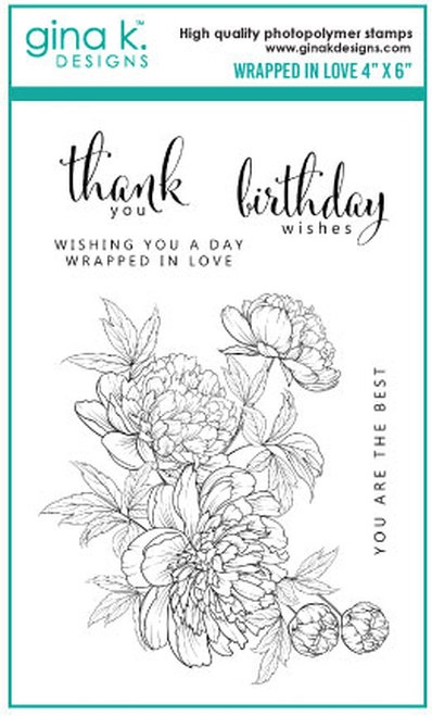 Gina K Designs WRAPPED IN LOVE Clear Stamps 0770 zoom image