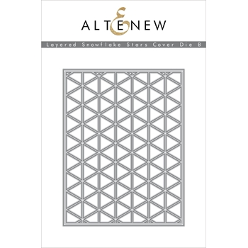 Altenew LAYERED SNOWFLAKE STAR COVER DIE B ALT3501