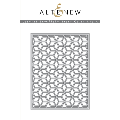 Altenew LAYERED SNOWFLAKE STAR COVER DIE A ALT3500 Preview Image